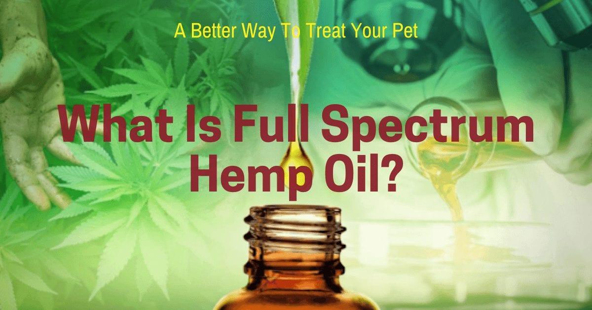 what is full spectrum hemp oil